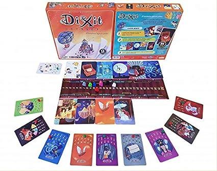 Dixit Odyssey original - Juego de mesa (Asmodée, DIX03ML1): Amazon.es: Juguetes y juegos
