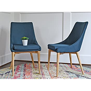 Amazon Com Upholstered Modern Dining Room Chairs Mid