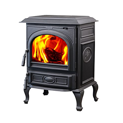 Hi Flame 1800 Sq Ft Appaloosa Medium Wood Burning Stove: HiFlame 63,000 BTU Freestanding Cast Iron Wood Burning