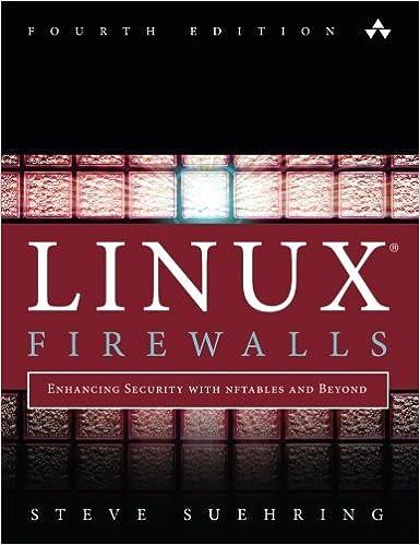 Linux Firewall Book