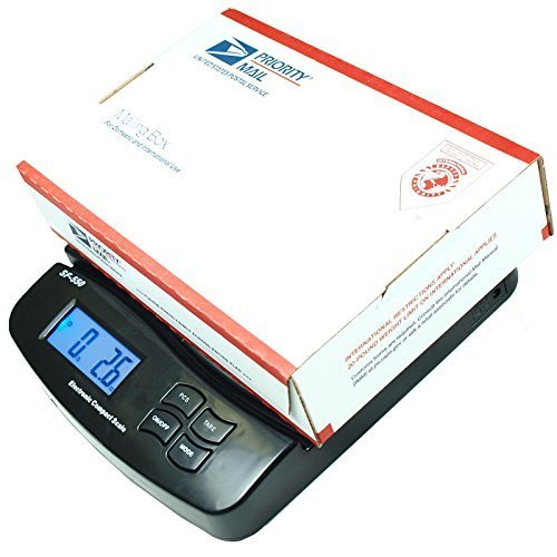 55 Lb X 0.1 Oz Digital Postal Shipping Scale V2 Weight Postage Kitchen (0.1 Ounce Diet Scales)