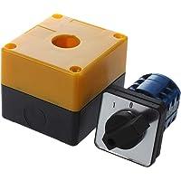 Interruptor - SODIAL(R)Interruptor conmutador 3 posiciones rotativo LW28-20/3