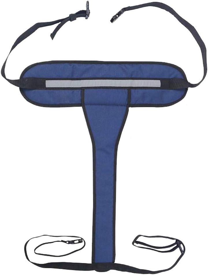SUPVOX Cinturón de Seguridad de La Silla de Ruedas Correa de Seguridad de La Silla de Ruedas Arnés Antideslizante Correa de Sujeción Correa de Posicionamiento Paciente Anciano Soporte Ortopédico
