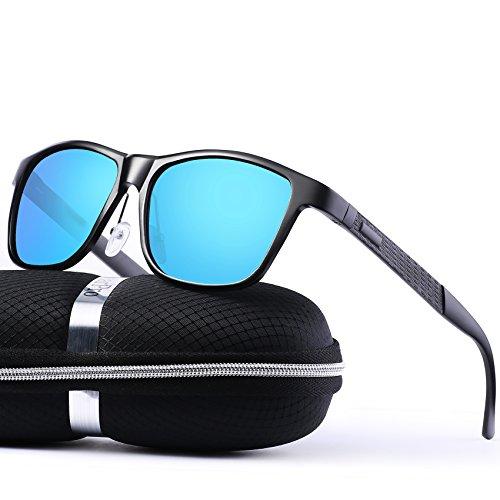 Polarized Wayfarer Sunglasses for Men - wearPro Sunglasses for Women Retro Vintage Men`s Sunglasses WP2018