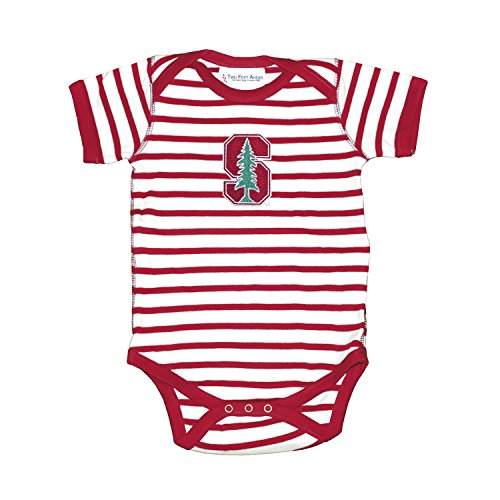 Stanford Cardinal Striped NCAA College Newborn Infant Baby Creeper (12 months)