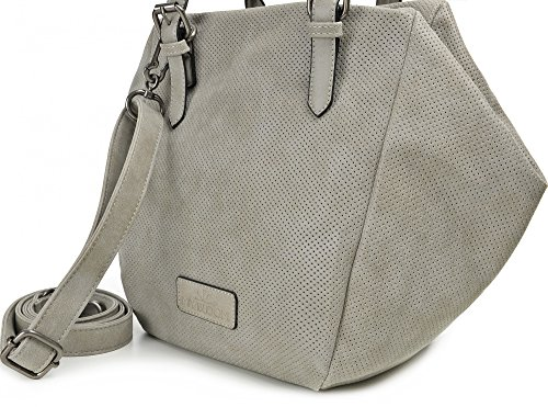 Trapezoidal w Straps D H Shoulder Ladies Bags Handbags Miya X With Sand 21 Cm 42 Bloom Gray X Bags X 23 X Color 4npY84wgq