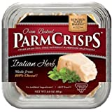 Kitchen Table Bakers Italian Herb Parmesan Crisps (Pack of 4)