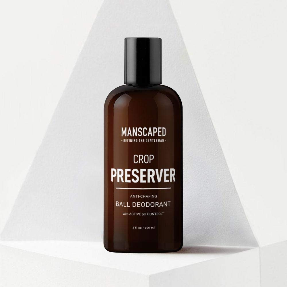 Manscaped Men's Ball Deodorant, Male Care Hygiene Moisturizer, The Crop Preserver, Anti-Chafing Groin Protection With Active pH Control and Cooling Aloe Vera Deodorant