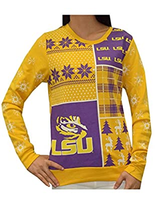 NCAA LSU TIGERS - Womens Athletic Pullover Sweatshirt
