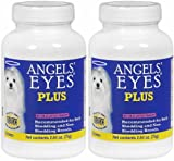 Angels' Eyes PLUS Dog Tear Stain Remover, Chicken 150g (2 x 75g)