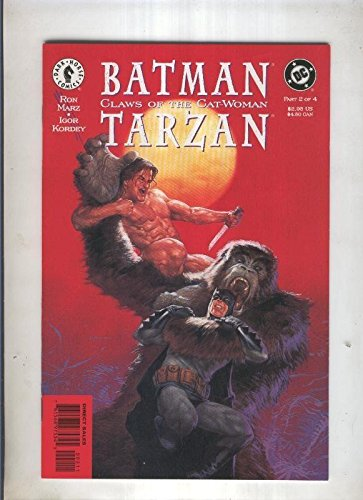 BATMAN CLAWS OF THE CAT WOMAN TARZAN: Numero 03