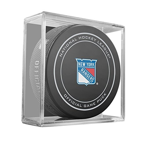 rangers official game puck - 2