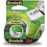 Fita Mágica com Suporte, Scotch, HB004087696, Transparente
