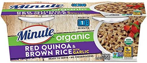Rice: Minute Ready to Serve