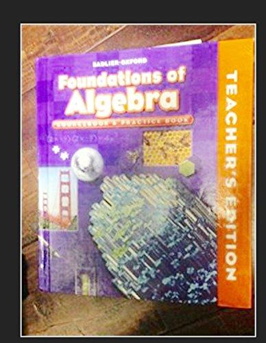 Foundations of Algebra Sourcebook & Practice Book Course II Gr. 8/Teacher's Edition (Course II Grade 8)