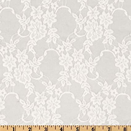 bf63e4a9fd Image Unavailable. Image not available for. Color  Ben Textiles Giselle Stretch  Floral Lace ...