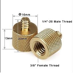 Livestream® Gear - 5/8 + 3/8 Female to 1/4\