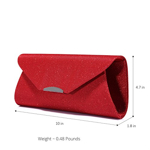 Purse Wedding Prom Women Party Clutches for Handbags Designer Evening and for Red Bags vTwAqTa