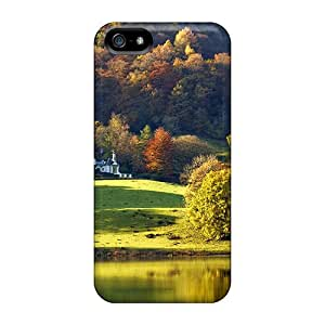Top Quality Protection Grasmere Lake Cases Covers For Iphone 5/5s