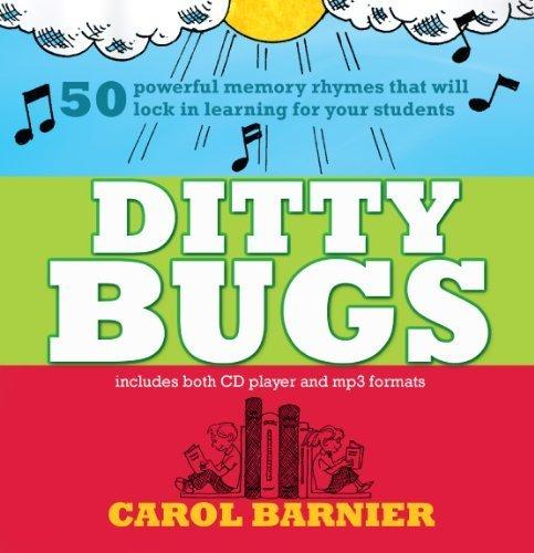 Ditty Bugs - 50 Powerful Memory Rhymes by Carol Barnier (2012-07-01)
