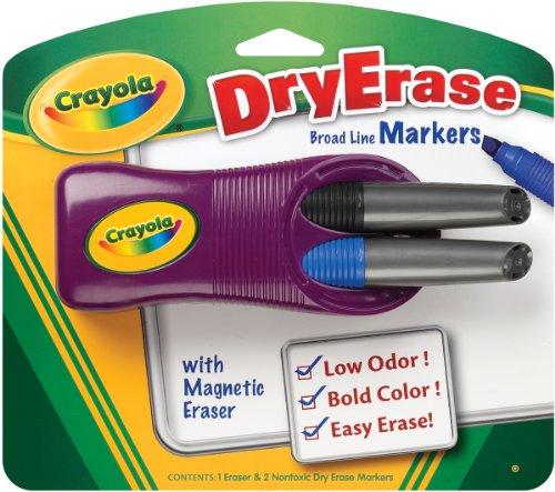 Crayola Dry Erase Magnetic Eraser Markers