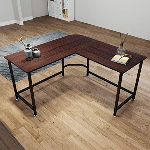Ziocceh L Shaped Desk Corner Desk - the best home office desk for the money
