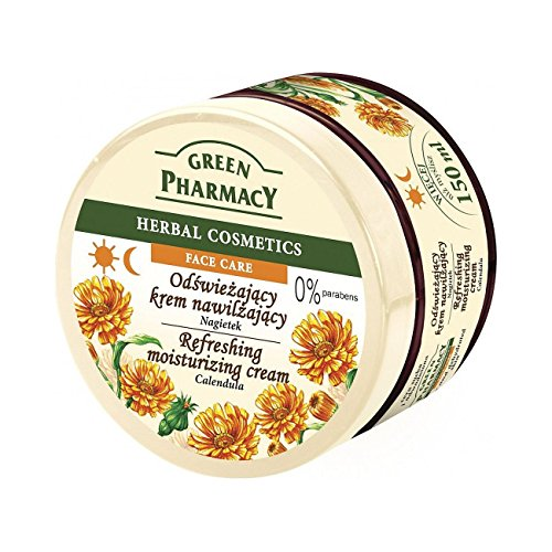 Green Pharmacy Moisturizing Calendula Face-Cream for Dry & D
