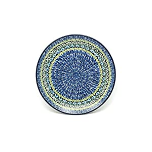 Polish Pottery Plate – 10″ Dinner – Tranquility