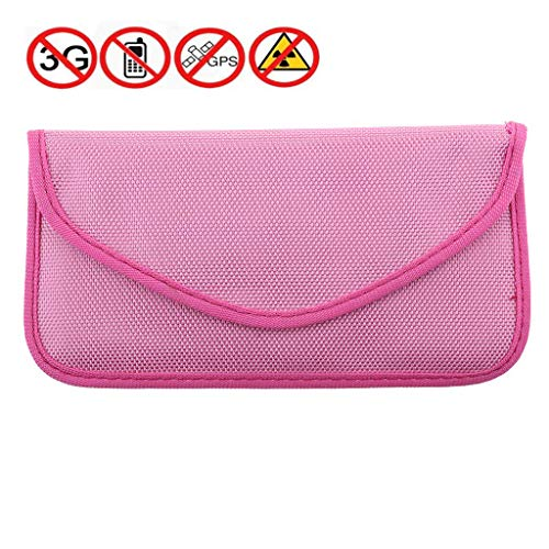 Cell Phone Signal Blocking Pouch Bag and Car Key Signal Blocker Case Faraday Bag Anti-Radiation RFID Keyless Entry RFID Blocking bag Protection Privacy Security ()
