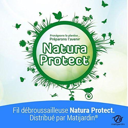 Pi/èce neuve Fil Natura Protect 1,6 mm x 15 m Rond Oxo biod/égradable Blister par 5