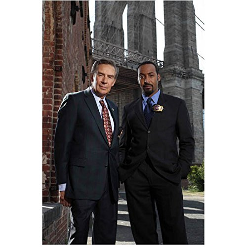 Law   Order  Special Victims Unit 8X10 Photo Jerry Orbach   Jesse L  Martin Partners Kn