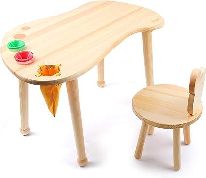 Tavolo da gioco per bambini in legno duro, Tavolo da disegno