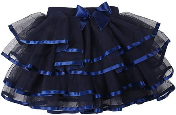 storeofbaby Falda de tutú de Tul para niñas Grandes Faldas de ...