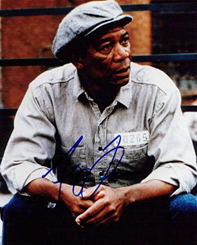 Morgan Freeman (The Shawshank Redemption) signed 8x10 photo