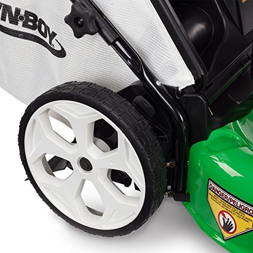 Lawn-Boy 10736 21-Inch with Honda 160cc Engine, 3-in-1 Discharge High Wheel Push Powered Lawn ...
