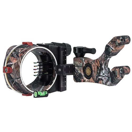 Cobra Archery Sights (Cobra 5 Pin .019 Buckhead Elite Toolless Sight, APX)