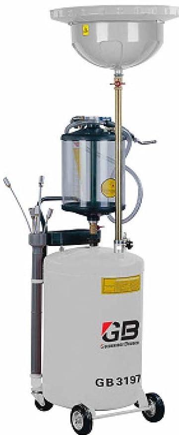 Aspirador recuperador de aceite usado noventa litros