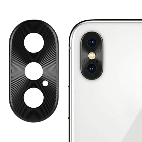 the latest 4d265 71c3f Sikye Metal Aluminum Rear Camera Lens Case Cover Protector Ring + Film for  iPhone Xs/XS Max