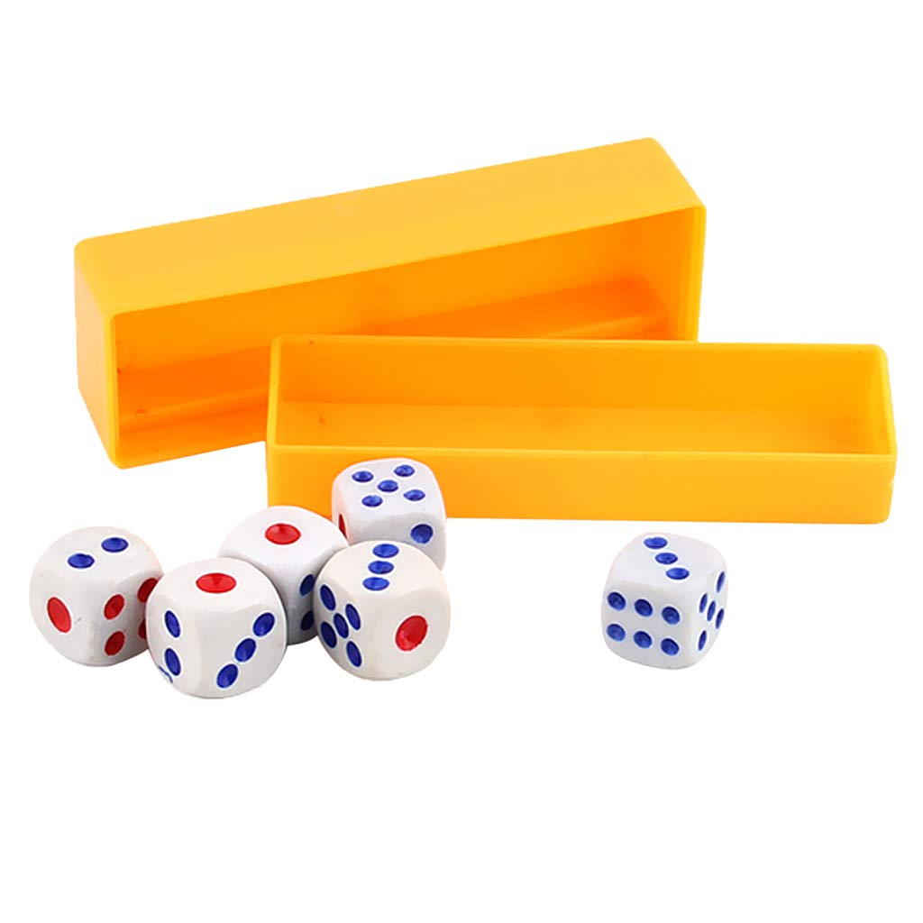 Blesiya Funny Magic Trick Tapping Loaded Dice Rolls Exact