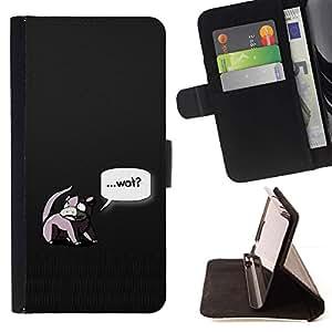 Momo Phone Case / Flip Funda de Cuero Case Cover - Wat - Sony Xperia Z3 D6603