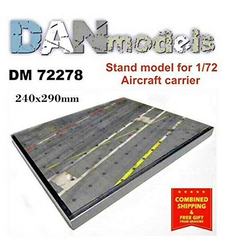 DAN MODELS Stand for Models. Topic: Aircraft Carrier Deck 240X290 MM 1/72 -