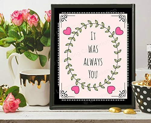 Shabby Chic Country Romantic Frame.Amazon Com Love Quotes Art Print Shabby Chic Baby Nursery