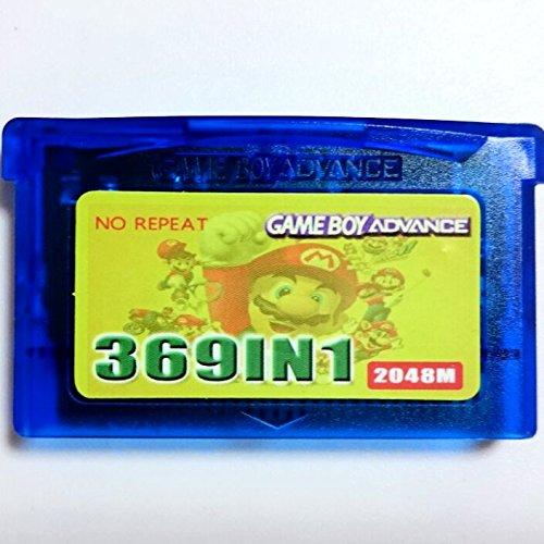 Game Boy Advanced 369 in 1 Classic Video Game Cartridge