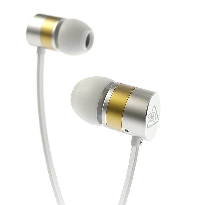 Auriculares intrauditivos con cable, RAVEtone Sonido estéreo HD ...
