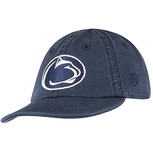 Lions Adjustable Hats - Top of the World Penn State Nittany Lions Infant Hat Icon, Navy, Adjustable