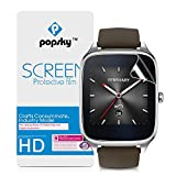 Asus ZenWatch 2 Screen Protector(49MM), Popsky Premium High Definition Ultra Thin Anti-Scratch Bubble-free Full Coverage Explosion-proof Screen Protector Film (2 Pieces)