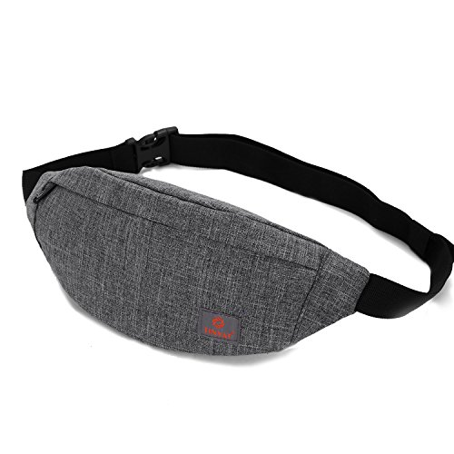 TINYAT Travel Fanny Bag Waist Pack Sling Pocket Super Lightw