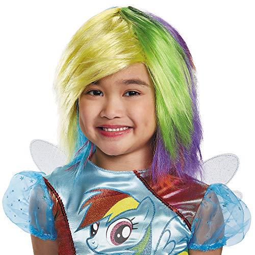 Fun Express - Rainbow Dash Wig for Halloween - Apparel Accessories - Costume Accessories - Costume Kits - Halloween - 1 Piece -