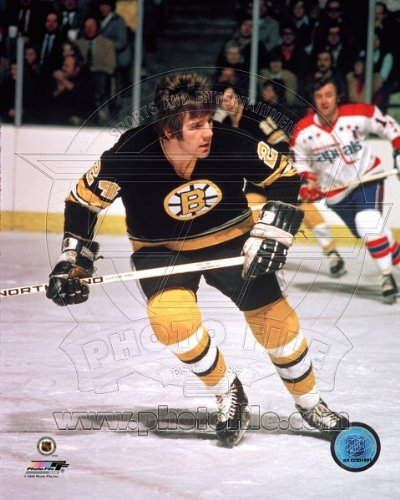- Terry O'Reilly Boston Bruins NHL Action Photo 8x10