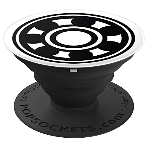 Roller Derby Skate Bearing - Derby Girl Gift - PopSockets Grip and Stand for Phones and (Bearing Pedestal)